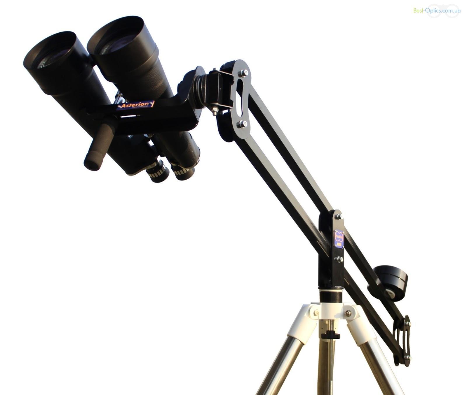 Asterion Parabino HD - монтировка для астрономических биноклей (с поворотным кулаком)