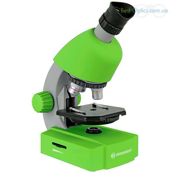 Микроскоп Bresser Junior 40-640x Green