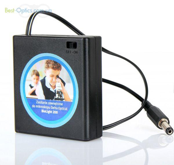 Батарейный блок для питания микроскопа Delta Optical BioLight 200