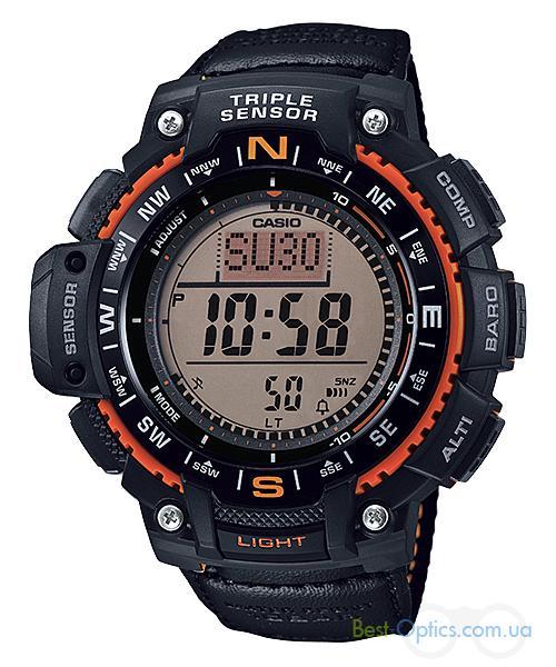 Часы наручные Casio SGW-1000B-4AER