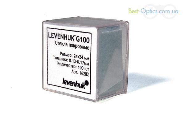 Покровные стекла Levenhuk G100
