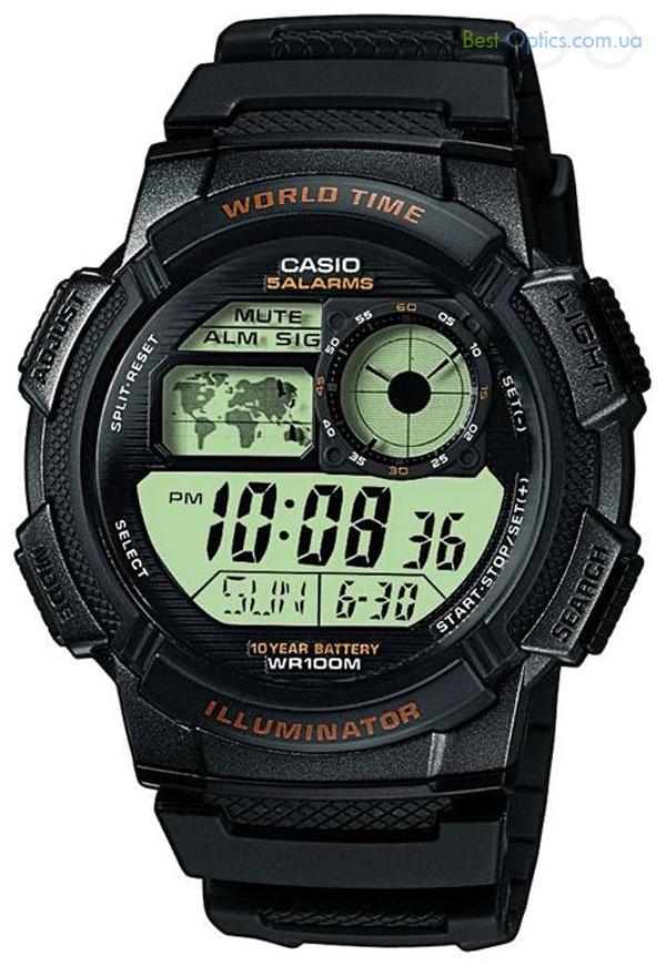 Часы наручные Casio AE-1000W-1B