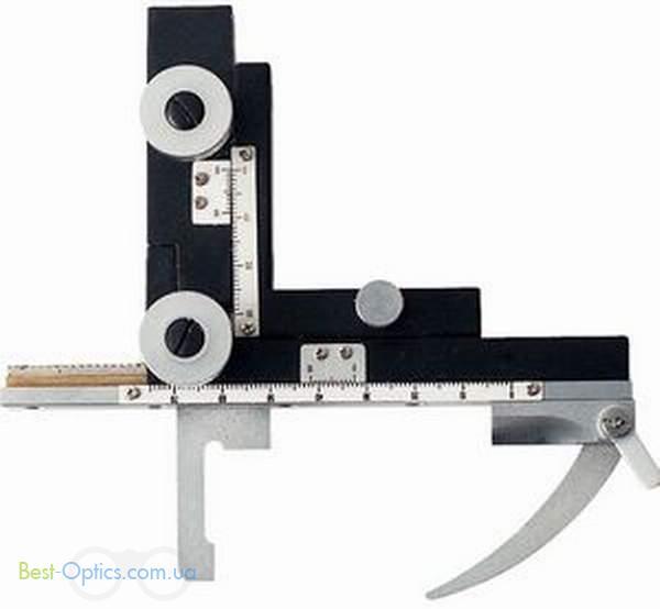 Предметный столик с координатным нониусом к микроскопам Konus