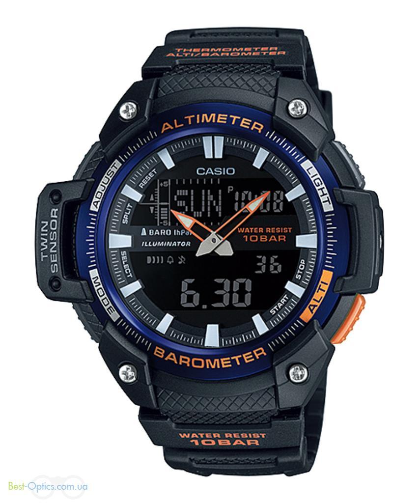 Часы наручные Casio SGW-450H-2BER