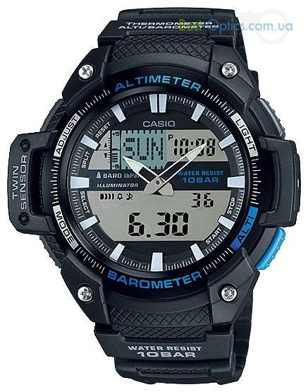 Часы наручные Casio SGW-450H-1AER