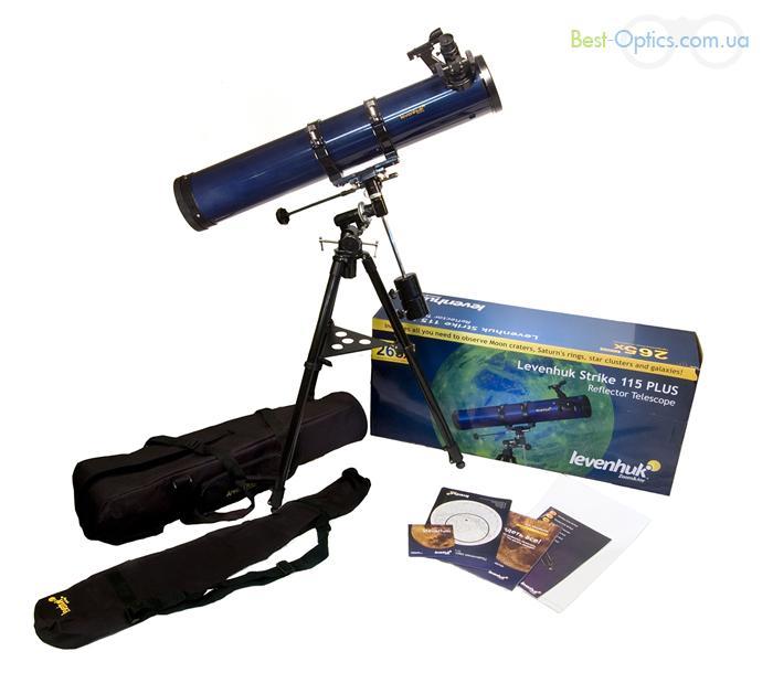 Телескоп Levenhuk Strike 115 Plus