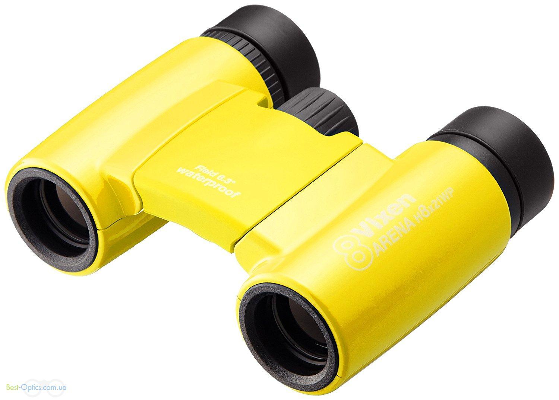 Бинокль Vixen Arena 8x21  Yellow