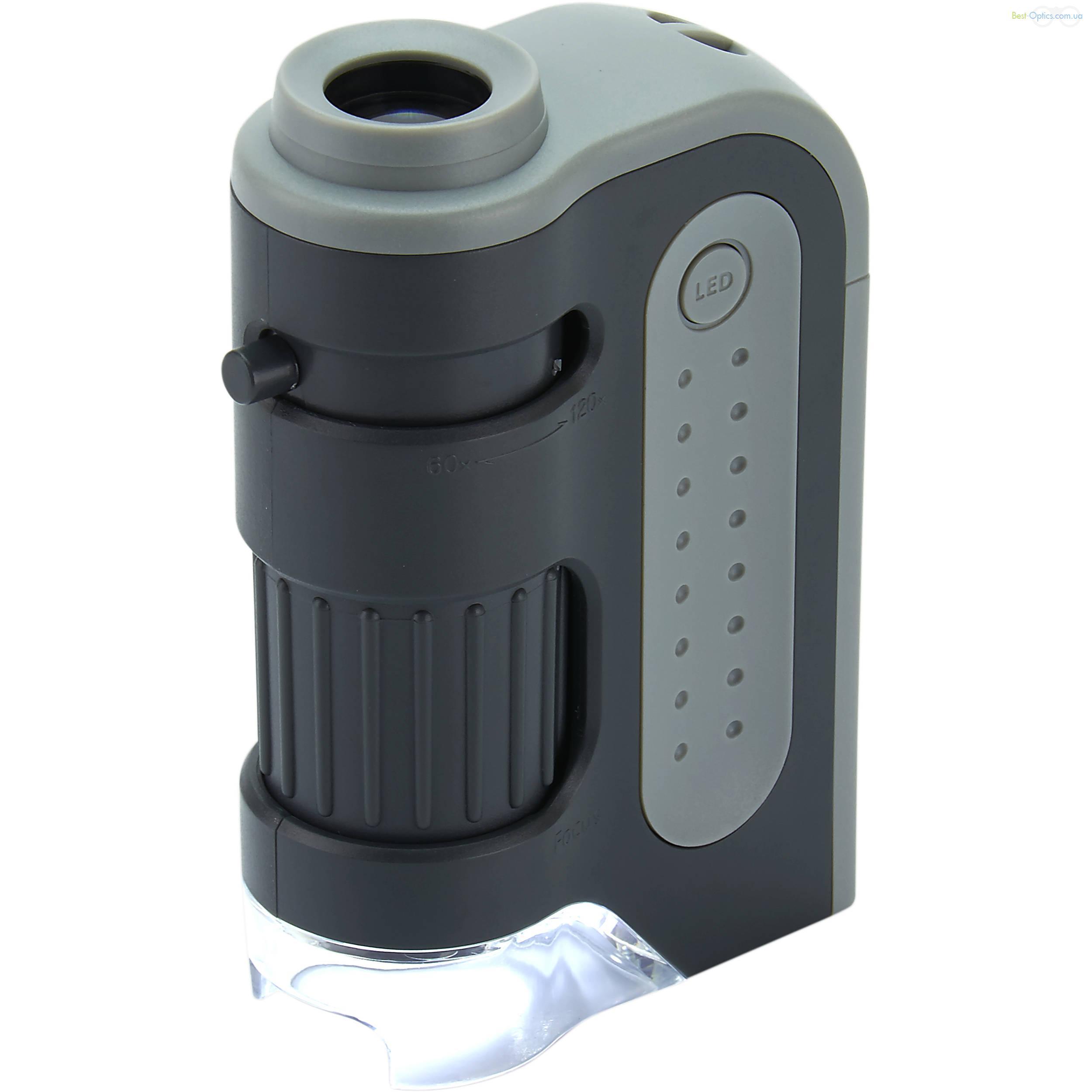 Карманный микроскоп Carson MicroBrite Plus HD