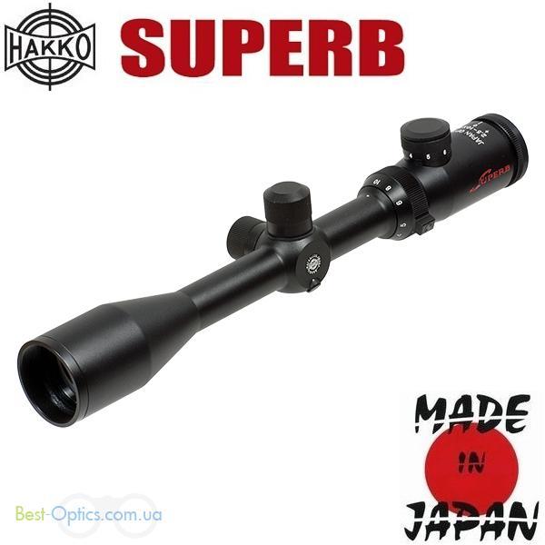 Прицел оптический Hakko Superb 2.5-10х42 (4A IR Cross Red)