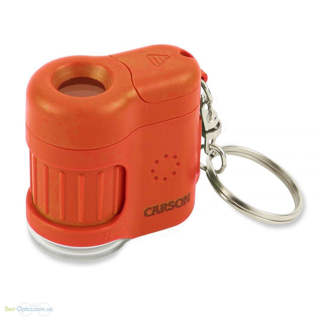 Микроскоп Carson MicroMini™ (оранжевый)