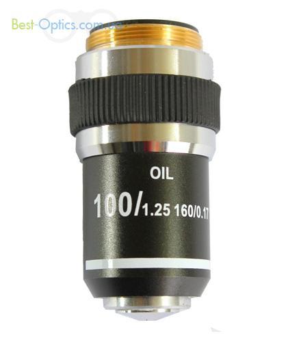 Имерсионный объектив 100x/1,25 Delta Optical Evolution100/Genetic Pro