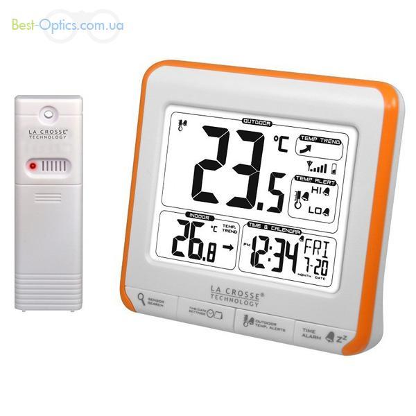 Термометр La Crosse WS6811 White/Orange