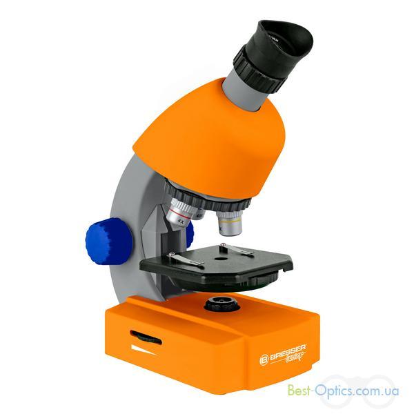Микроскоп Bresser Junior 40-640x Orange (Base)