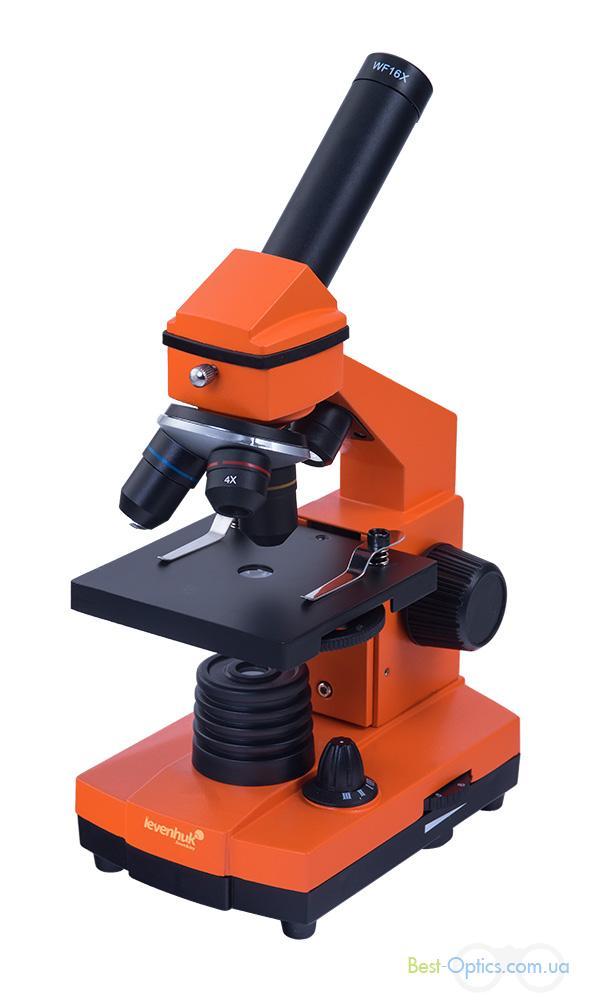Микроскоп Levenhuk Rainbow 3L NG Orange/Апельсин