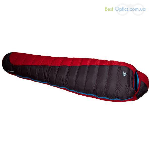 Спальный мешок Sir Joseph Erratic plus II 850/190/-12°C Red/Blue (Left)