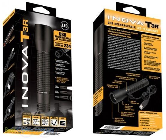 Фонарь Inova T3R-USB Rechargeable (234 Lm)