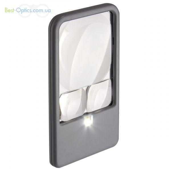 Увеличительное стекло Carson Pocket Magnifier 2.5-5-6x