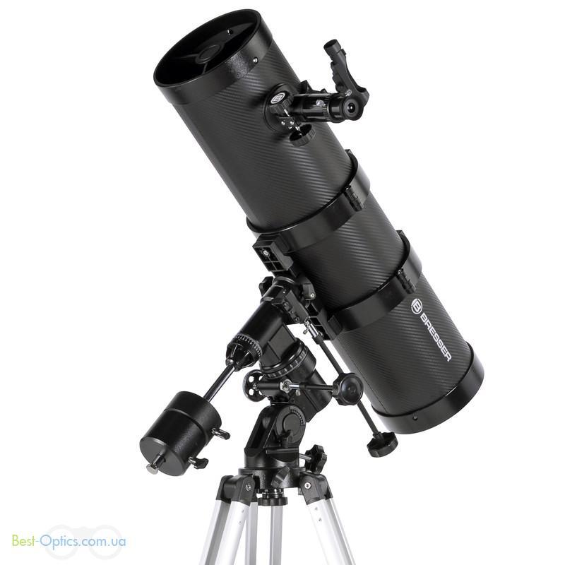 Телескоп Bresser Pollux 150/1400 EQ2 (Сarbon)