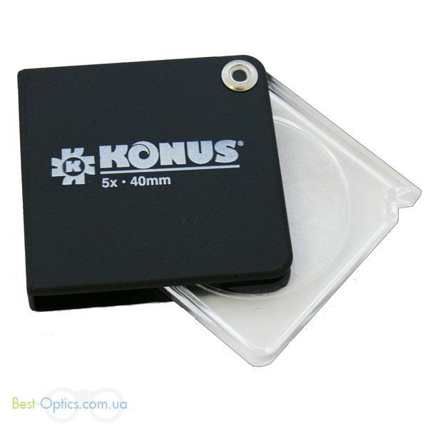 Увеличительное стекло Konus Quiclens 5x