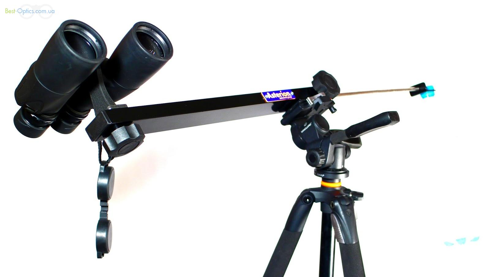 Asterion Parabino Travel - кронштейн для установки бинокля на фотоштатив