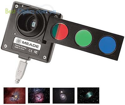 Астрономическая цифровая камера Meade DSI-Pro II (черно-белая) с набором фильтров