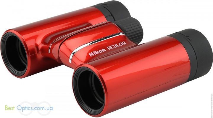 Бинокль Nikon Aculon T01 10х21 Red
