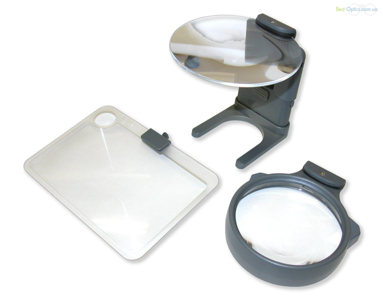 Увеличительное стекло Carson Hobby Magnifier 2-3-3.5х