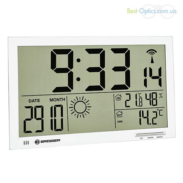 Метеостанция Bresser MyTime Jumbo LCD White