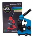 Микроскоп Levenhuk Rainbow 2L Azure/Лазурь